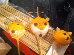 Fox Pops on sticks